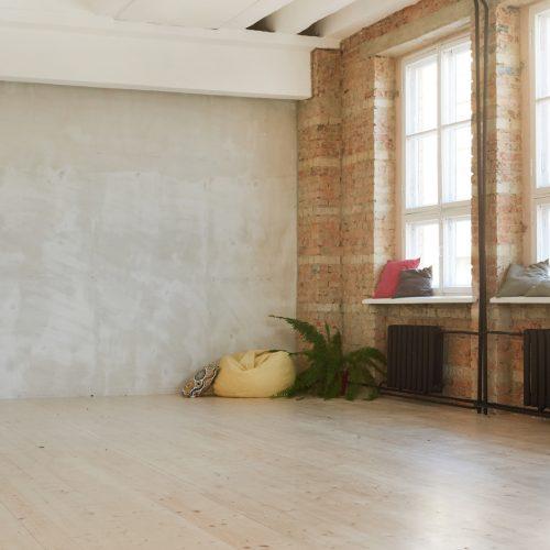 Health club interior design ideas - Image of modern empty dance studio in health club