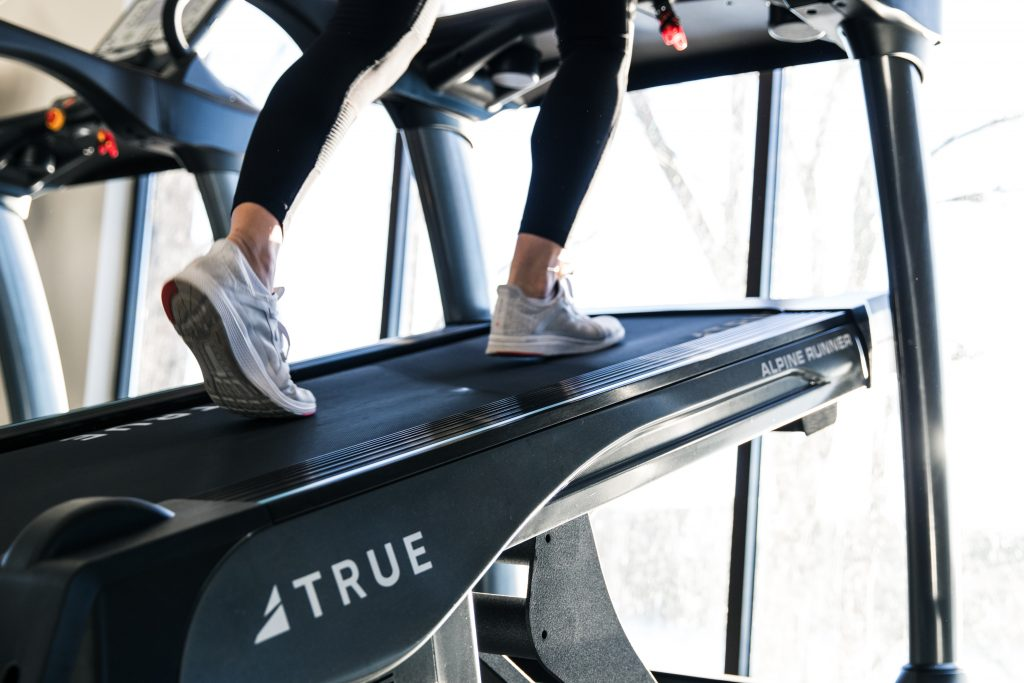Alpine Runner Incline Trainer by TRUE Fitness