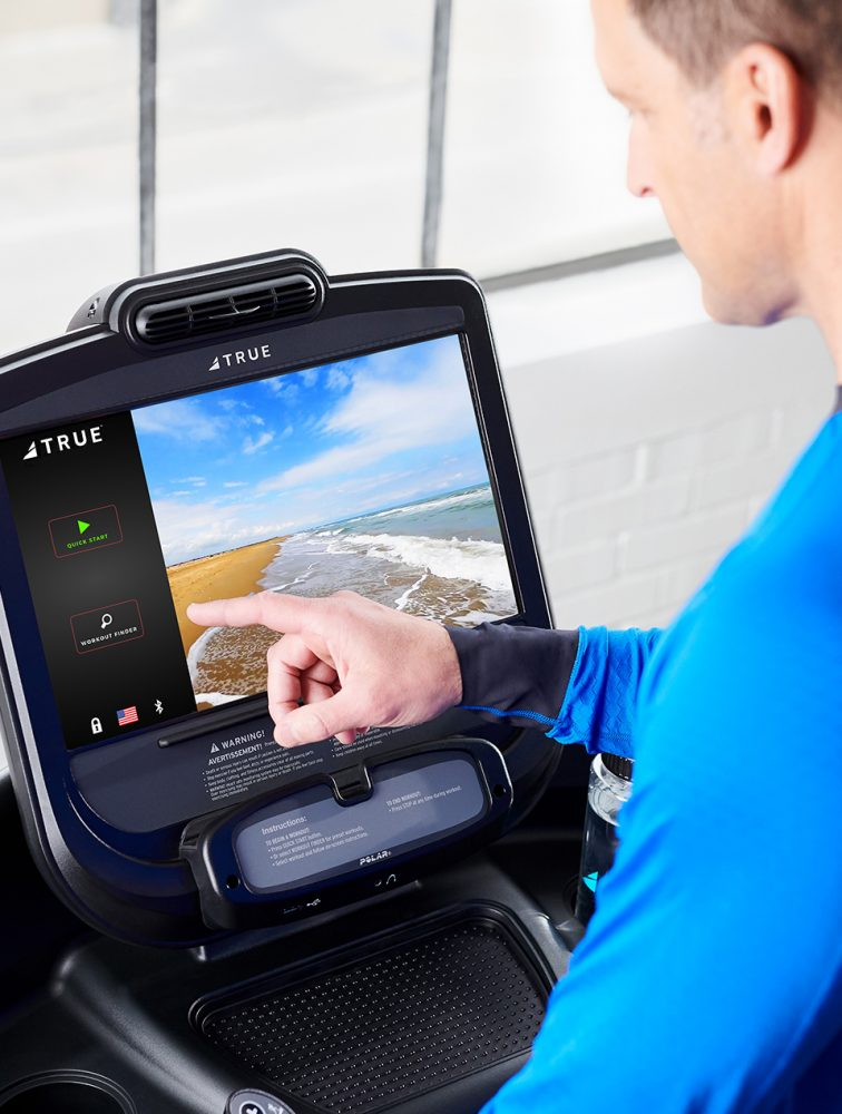 The TRUE Fitness technology is unique when it comes to commercial fitness equipment.