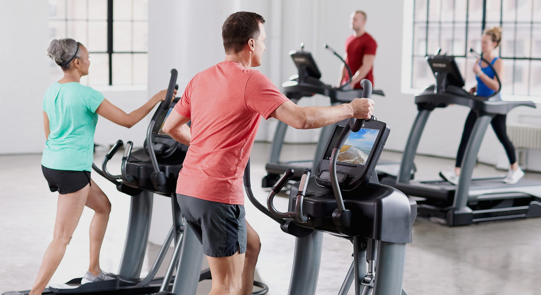 Ellipticals are a great cardio machine for your commercial facility.