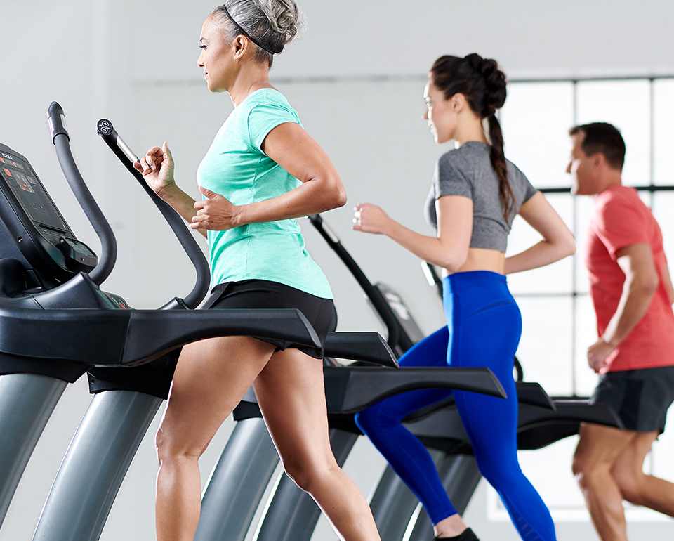 Group training can be done on TRUE's commercial fitness equipment, including our treadmills.