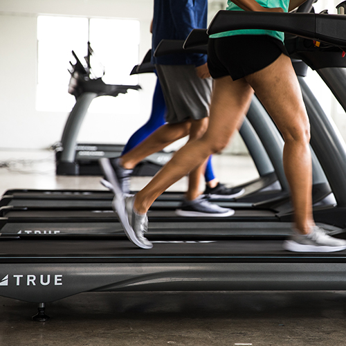Try our treadmills at you athletic performance centers.