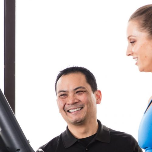 Personal trainer at TRUE Fitness