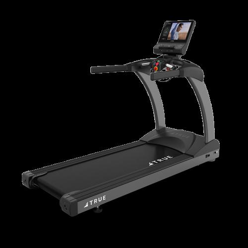 Three quarter view of TRUE 600 Treadmill