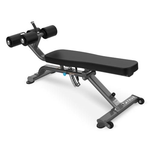 Custom Ab Bench from TRUE Fitness.