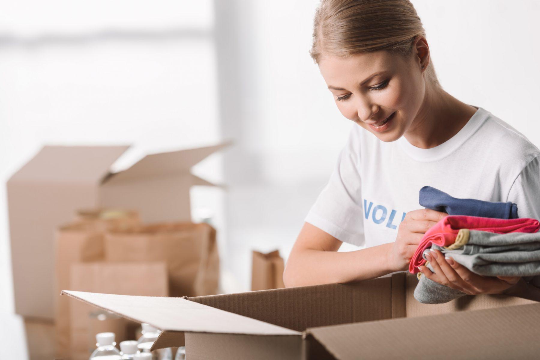 True Cares Clothes Donation Boxes